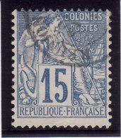 Colonies Générales 1881 - N° 51 - Oblitération REUNION (Lot 3) - Alphee Dubois