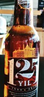 AC- 125th ANNIVERSARY OF BOMONTI BEER SPECIAL EDITION EMPTY BOTTLE & CROWN CAP - Cerveza