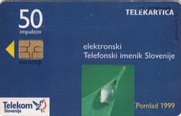 SLOVENIA SLOVENIJA   PHONECARD 1999 ETIS POMLAD TELEPHONE DIRECTORY SPRING 1999  TELEKOM CAT.NO. 211 - Slovénie