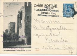 285/24 - LUXEMBOURG Entier Postal Illustré 35 C Ancienne Enceinte - LUXEMBOURG 1937 - Ganzsachen