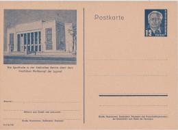 DDR  ENTIER POSTAL CARTE ILLUSTREE - [6] République Démocratique