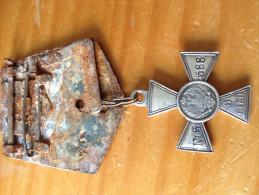 Russia Medal 1914, 3 Class Cross Of St. George With Original Ribon, N: 5588. Nicholas II Of Russia - Russia
