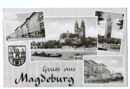 9792  CPA  MAGDEBURG  , Carte Photomultivues  1950     ACHAT DIRECT !!! - Magdeburg