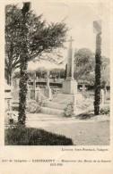 CPA- LIEUSAINT (50) - Aux Environs De Valognes ,vue Du Monument Aux Morts Dans Les Années 20 - France