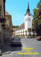 1 AK Niederösterreich * Das Rathaus Mit Pranger In Gumpoldskirchen * - Autriche
