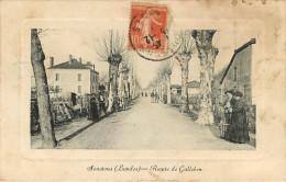Dép 40 - Soustons - Route De Galleben - 2 Scans - état - Soustons