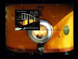 Croatia 2010: Centenary Of Tramway In Dubrovnik, Mi. Block 43, MNH(**) - Croazia