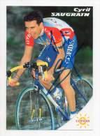 Cyclisme - Cofidis - Cyril Saugrain - Signé - Cyclisme