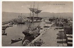 QUAIS ET PORT DE BEYROUTH (LIBAN) - Libanon