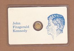 AC - JOHN FITZGERALD KENNEDY GOLD PLATED - Royal/Of Nobility