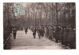 94 Bois De Vincennes Les Joueurs De Boules à Saint Mandé Pétanque Boule Cachet 1906 - Saint Mande