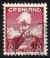 GRÖNLAND 1938 - MiNr: 2  Used - Grönland