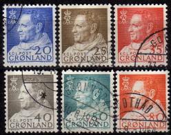 GRÖNLAND 1963 - MiNr: 52-57 Komplett  Used - Grönland