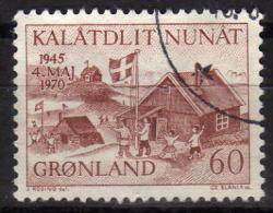 GRÖNLAND 1970 - MiNr: 76  Used - Grönland