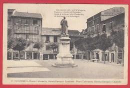 CPA* PUIGCERDA * 1937  Plassa Cambrinetty. Hotels Europa Y Catalunya* VOIR Scan Recto/verso - Vari