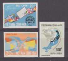 S. VIETNAM  IMPERF./NON DENT.  UPU CENT.  SCOTT N° 493/5  **MNH  VF  Réf  E049 - Viêt-Nam
