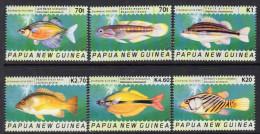 Papua New Guinea 2004 Freshwater Fish Set Of 6, MNH (C) - Papua-Neuguinea