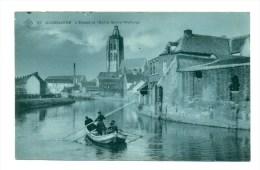 België  Oudenaarde - Audenarde, Eglise Sainte-Walburge Et L'Escaut - Oudenaarde