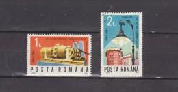 1984 -  L Eclairage Electrique  Timisoara Michel No 4114/4115 Et Y&T 3553/3554 - 1948-.... Repúblicas