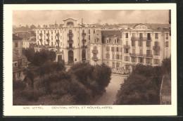 CPA Vittel, Central-hôtel Et Nouvel-hôtel - Non Classés