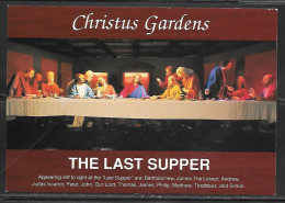 The Last Supper, Christus Gardens, Gatlinburg, TN, Unused - Smokey Mountains
