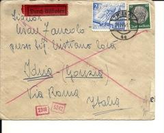Lettre  Allemagne Wien Pour Italie 1941 (245/46) - Lettres & Documents