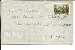 Lettre  Mozambique 1968 (257/58à - Mozambique