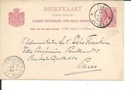Lettre  Pays Bas 1900 (272) - Periode 1891-1948 (Wilhelmina)