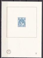 Nederland : 2011 Blauwdruk Koningin Wilhelmina 12½ Cent (63) NVPH BD 9 - Ongebruikt