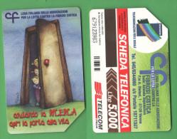 Schede Telefoniche > TELECOM Lega Fibrosi Cistica 5000 Lire 06-2000 - Italia