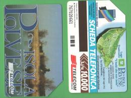 Schede Telefoniche > TELECOM Turismo Isola Polvese 10000 Lire 06 -2000 - Italy