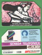 Schede Telefoniche > TELECOM AIDS 15000 Lire 06 -1998 - Italy