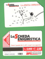 Schede Telefoniche > TELECOM Scheda Enigmistica 5000 Lire 12-2002 - Italia