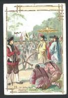 """Ancien Chromo Publicitaire - Chicorée AU CORDON BLEU - LA BASSEE - """" Le Labourage Impérial - Chine - 12    // - Thé & Café"""