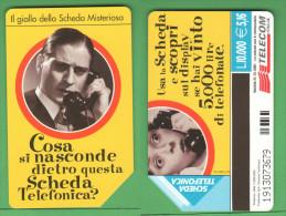 Schede Telefoniche > TELECOM Scheda Misteriosa 10000 Lire 12-2001 - Italie