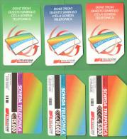 Schede Telefoniche > TELECOM Simbolo Scheda 5000 + 10000 + 15000 Lire 1999 - Italia