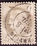 Cérès IIIème République 4c Gris - 1871-1875 Ceres