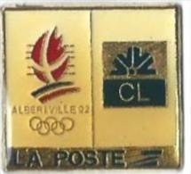 JO ALBERTVILLE 92 - LA POSTE - CL - LOGOS - Juegos Olímpicos