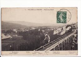 Velars Sur Ouche - Panorama Ouest, Train Venant De Paris - Otros Municipios