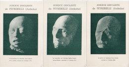 L'Auberge Sanglante De PEYREBEILLE - 3 CPA - Pierre Martin - Marie Breysse épse Martin - Jean Rochette (85723) - Francia