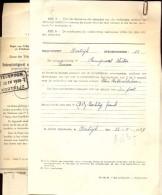 Aansluiting Telefoon Oproepnummer 12 - Kortrijk 1939 - Vieux Papiers