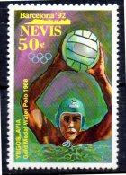 NEVIS   N° 639 * *    Jo 1992  Water Polo Yougoslavie