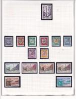 Andorre Collection Neufs ** - Quelques TP* Et Obl - 9 Scans - Collections