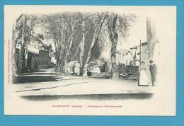 CPA LABOUCHE - Promenade Fontestorbe LAVELANET 09 - Foix