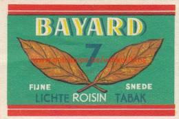 Bayard Tabak Tabac - Boites D'allumettes - Etiquettes