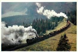 TRAIN : EN RAMPE DE 70 MM SUR L'ERZBERGERBAHN - AUTRICHE . - Trains