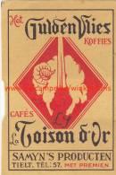 Gulden Vlies La Toison D'Or Koffie Café - Boites D'allumettes - Etiquettes