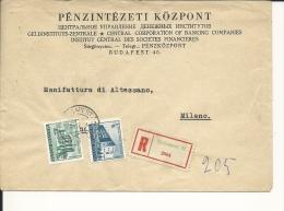 Lettre  Hongrie  1957  (280)
