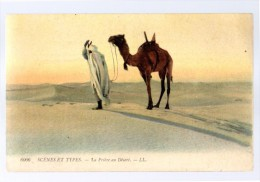 Arabe Faisant La Priére  Scénes Et Types MAROC ALGERIE TUNISIE - Islam