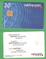 Swisscom Taxcard 10 CHF 1999  Svizzera Schweiz Suisse - Switzerland